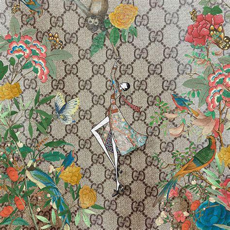 gucci pattern ai meet gucci s favourite australian artist grazia australia
