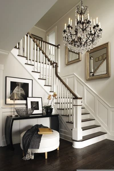 stairway decor ways to decorate your foyer bonito designs