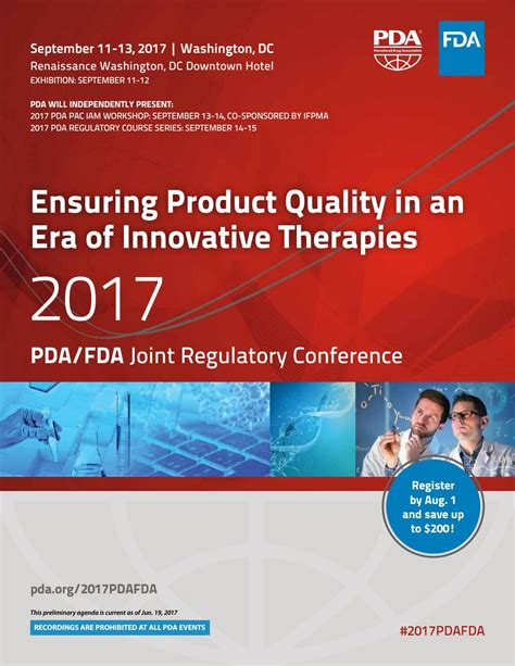 Lmu Joint Mba And Mph by 2017 Pda Fda Joint Regulatory Conference By Parenteral