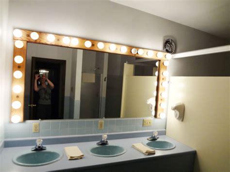 public bathroom mirror ski trip timberhouse ski lodge spatialdrift