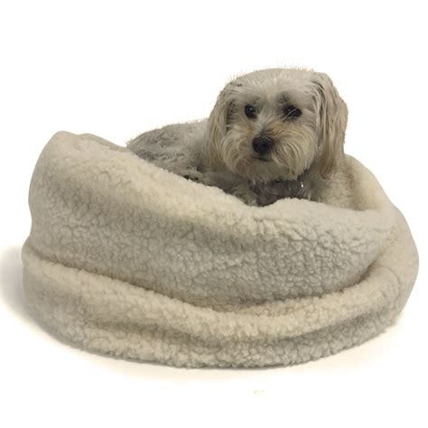 dog bed stuffing sherpa dog bed slip cover add your own stuffing ships