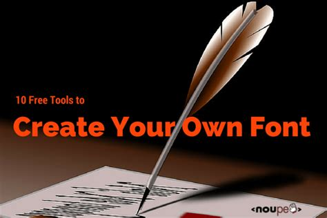 design your own font online free 10 free tools to create your own font noupe