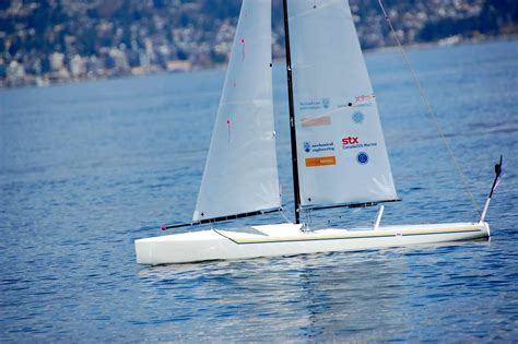 sailboat ubc ubc students build a robotic sailboat designed to cross