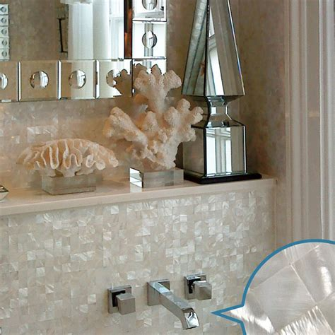 mother of pearl bathroom wholesale mother of pearl tile white square shell tiles