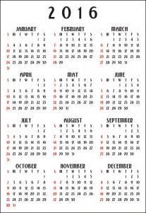 Calendario Vertical 12 Month Calendar 2016 Vertical Free Stock Photo