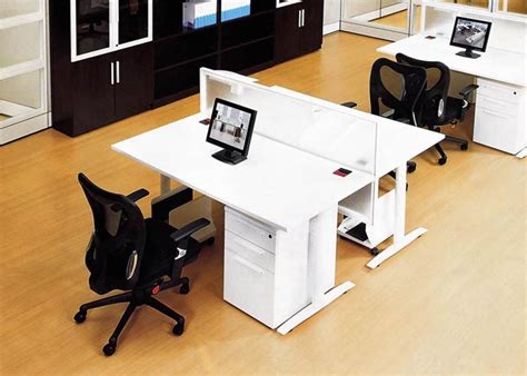 Dual Office Desk by Dual Workstation Office Furniture Desk To