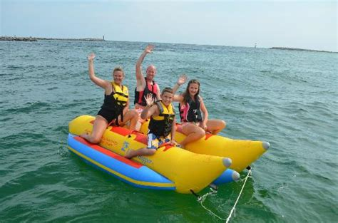 banana boat ride destin fl you will get wet picture of banana boat rides