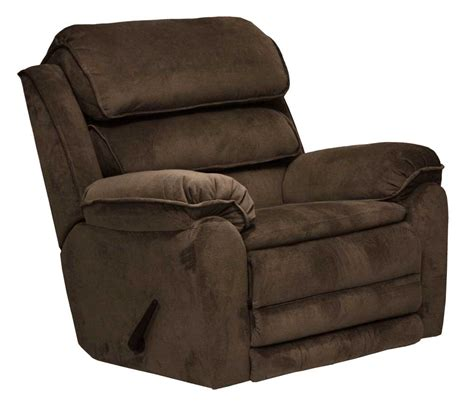 X Rocker Recliner Catnapper Vista Chaise Rocker Recliner With X Tra Comfort Footrest Chocolate Cn 4733 2