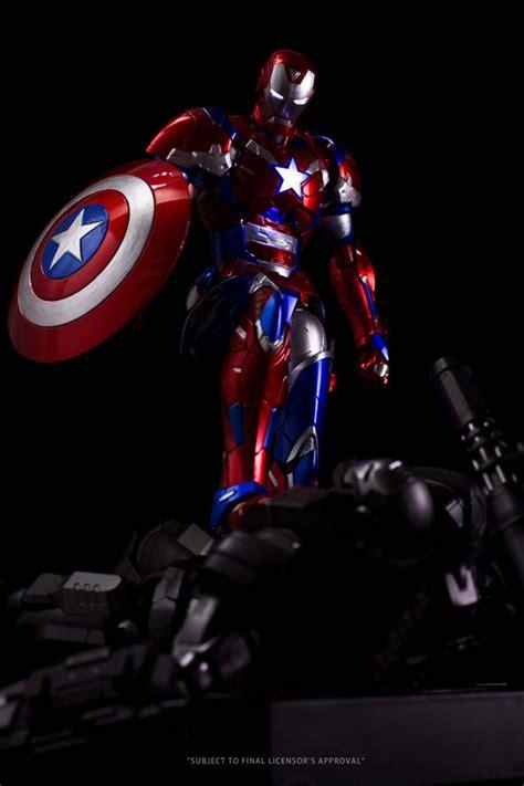 Ironman Patriot Tideway 官圖 販售資訊公開 千值練 re edit 鋼鐵人 鋼鐵愛國者 限定販售 玩具人 news