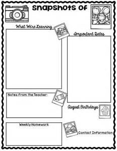 Classroom Letter Templates 25 Best Ideas About Newsletter Template On Pinterest