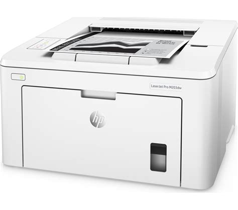 Printer Laserjet Wifi buy hp laserjet pro m203dw monochrome wireless laser printer free delivery currys