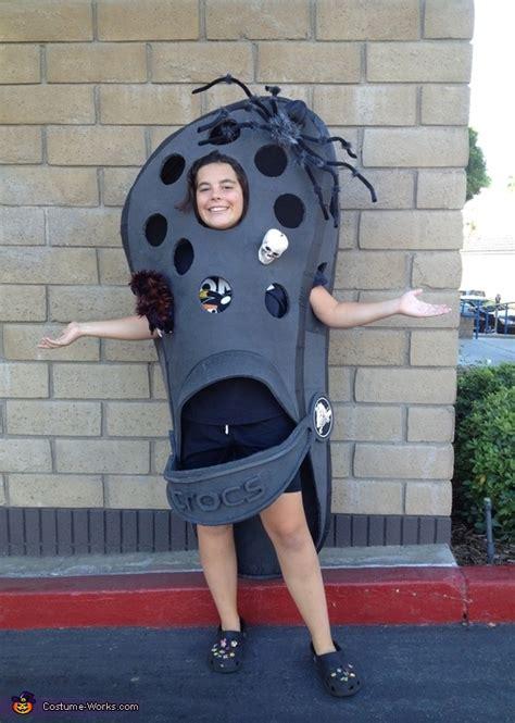 croc shoe creative halloween costume