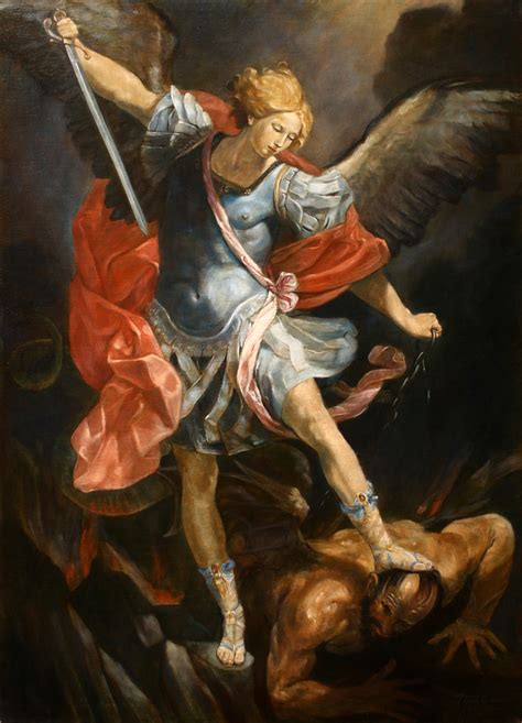 Archangel Michael archangel michael painting arts gallery