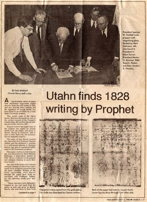 Deseret News Church Section by Christian Forums