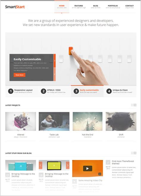 premium responsive templates 15 high quality free responsive themes for new