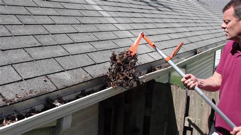 Tools To Clean Gutters by Gutter Sense Review Diy Gutter Cleaning Tools How To
