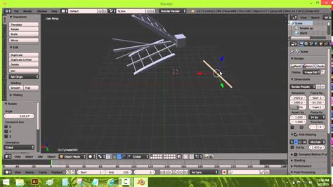 vidio membuat antena tv tutorial membuat antena tv dengan blender by moch imami