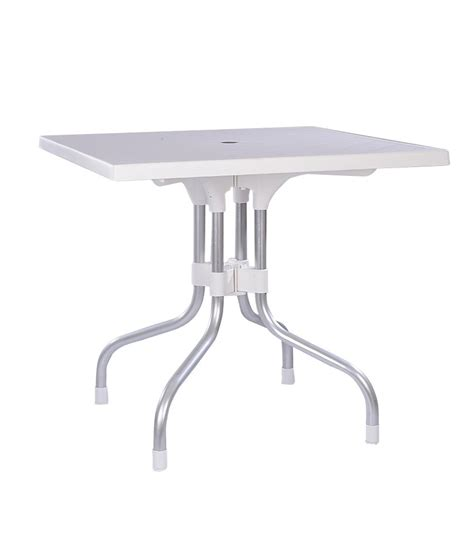 Supreme Olive Foldable Dining Table Milky White Buy Supreme Dining Table