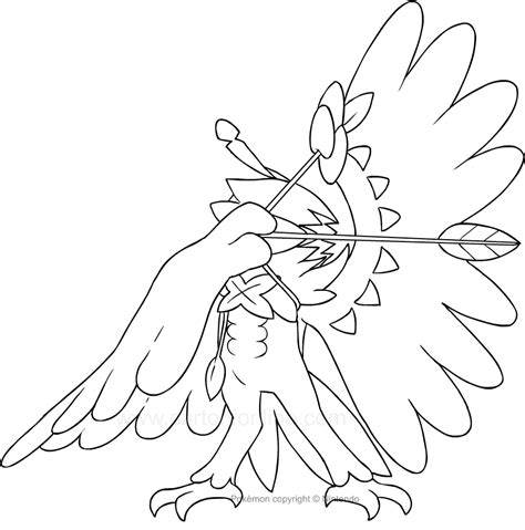 coloring pages images decidueye pokemon coloring pages images pokemon images