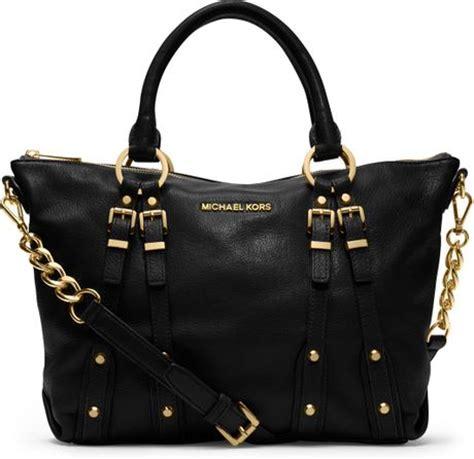 Marc Leigh Handbag by Michael Kors Medium Leigh Satchel In Black Lyst
