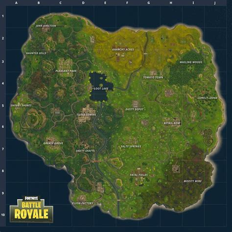 Fortnite Battle Royale Gets A New Map Update And More This