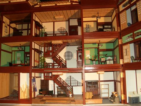 japanese doll house interior view of the japanese dollhouse miniture japan pinterest