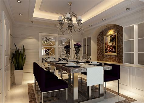 neoclassical interior design ideas england neoclassical dining room interior decoration 3d