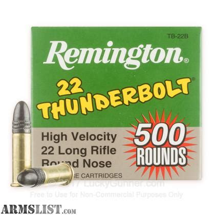 remington thunderbolt 22 ammo armslist for sale remington 22 thunderbolt 500ct