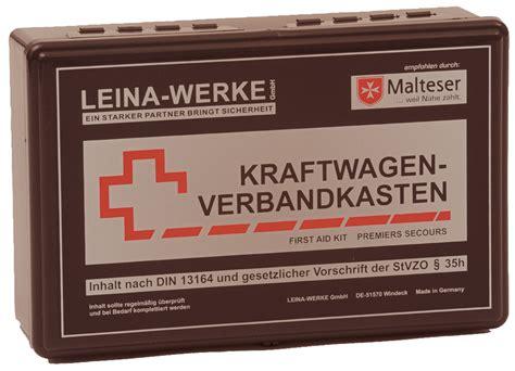 Verbandskasten Auto Angebot by Auto Motorrad Verbandsk 228 Sten Angebote Finden