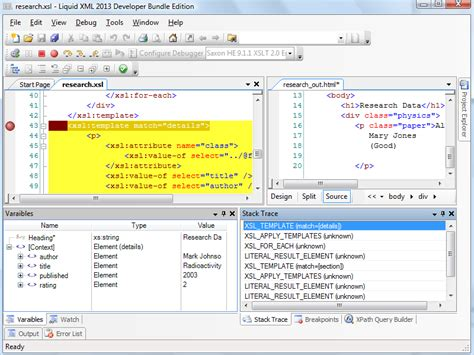 xslt tutorial resume xslt