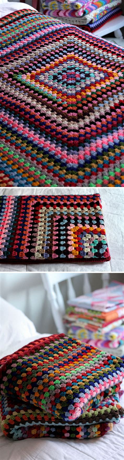 Easiest Way To Crochet A Blanket by 45 And Easy Crochet Blanket Patterns For Beginners