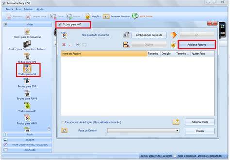 format factory converter video r1total como converter v 237 deo para avi no format factory