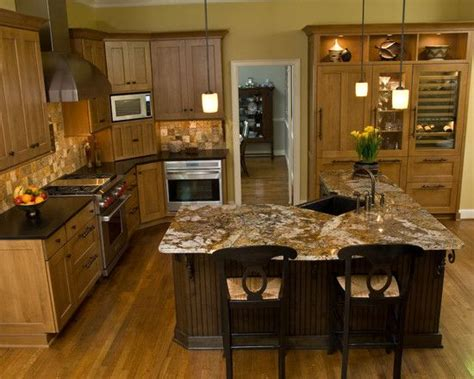 Kitchen Island Different Color Than Cabinets 17 Best Images About Kitchen With Different Color Island On Pinterest Oak Cabinets Wall
