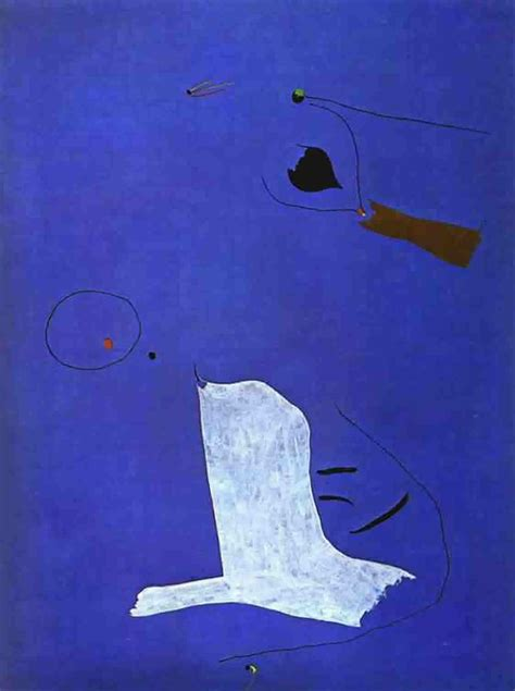 blue paintings blue painting joan miro wallpaper image