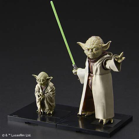 figure yoda wars yoda 1 6 and 1 12 figure kit set from bandai