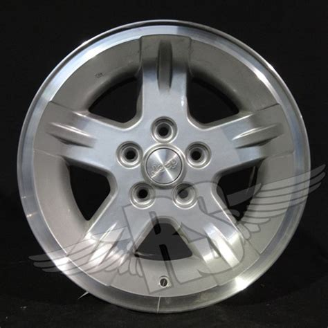 Used Jeep Rims 2006 Jeep Wrangler Wheels Silver 560 09050