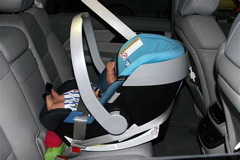 using car seat without base picture of baby with belt babycenter
