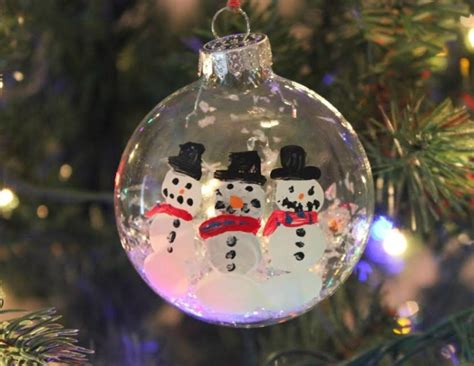 Handmade Snowman Ornaments - handmade snowman ornaments tedx decors the of diy
