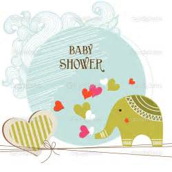 baby shower card template stock vector 169 danussa 9112078