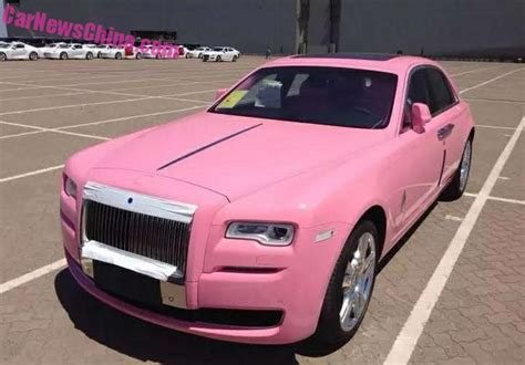 roll royce pink would you drive a pink rolls royce