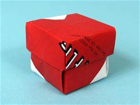 Origami Small Box - netflix origami recycle paper