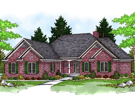 Chapparal Luxury Ranch Home Plan 051s 0064 House Plans | chapparal luxury ranch home plan 051s 0064 house plans