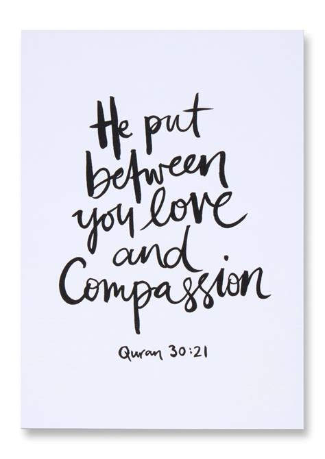 printable islamic quotes love compassion islamic art print islam pinterest