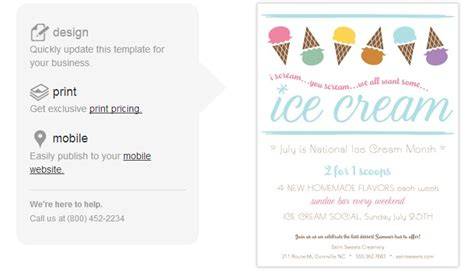 4 Ice Cream Social Flyer Templates Af Templates Social Flyer Word Template