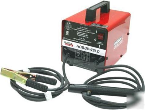 6416 lincoln electric hobby weld arc welder