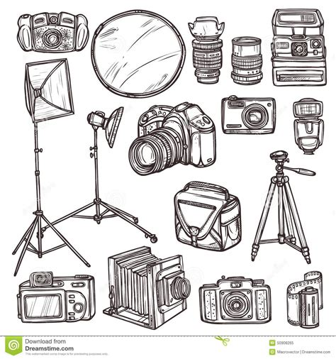 doodle 4 resources electronics doodle icons 4 royalty free stock