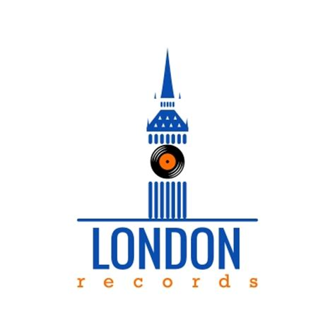 design logo london london records logo design gallery inspiration logomix