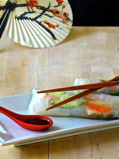 goi cuon chay summer rolls vietnam recipe  flavors