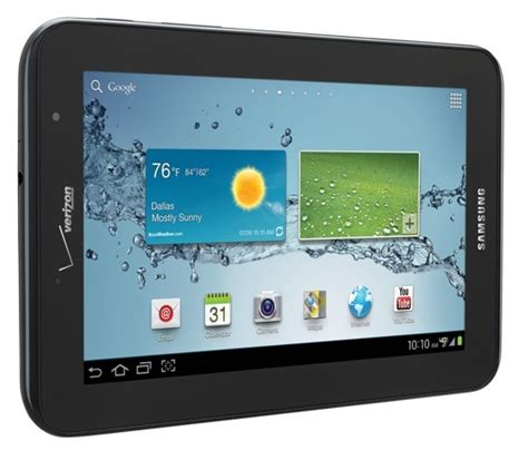 verizon to launch lte equipped samsung galaxy tab 2 7 0 on