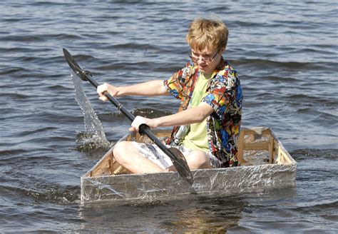 boats made out of aluminum foil tin foil boats gallery virginiamn